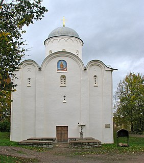 Church in Staraya Ladoga, Russia