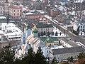 Францисканський монастир, вид з Замкової гори.jpg