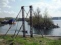 Шлиссельбург, Цепной (висячий) мост.jpg