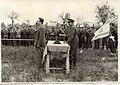 """מסדר חיילי חי""""ל בטקס הנפת דגל ישראל oops of the Jewish Fighting Brigade at Israe-155.jpeg"""