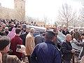 صلاة الجنازة على الشيخ حارث الضاري في مسجد الحسين بن طلال في حدائق الحسين بعمان 13.JPG