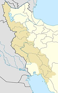 Kirmaşan is located in Rojhilata Kurdistanê