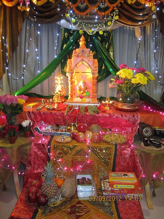 Ganpati Decoration Items For Home