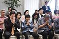 นายกรัฐมนตรี และคณะรัฐมนตรีพร้อมคู่สมรสเป็นเจ้าภาพในพิ - Flickr - Abhisit Vejjajiva (3).jpg
