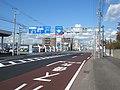 北海道道633号函館港線・国道227号交点-1(国道227号起点側から).jpg