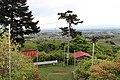 十二山山頂の赤城神社鳥居より最後の階段 - panoramio.jpg