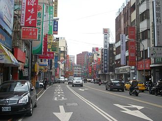 Fengyuan District - Image: 豐原中正路