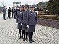 진광미, 한선, 김현정 2003년 3월 5일 제12기 소방간부후보생 졸업 및 임용식20.jpg