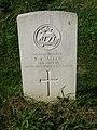 -2020-09-19 CWGC gravestone, Private R R Allen, Parish church of Saint Margaret, Thorpe Market.JPG