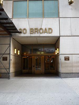 Continental Bank Building - Continental Bank Building at 30 Broad Street