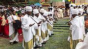 01 - Priests dancing for Timkat