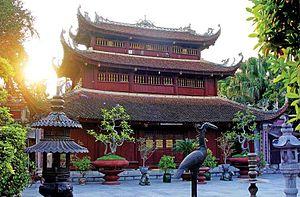 Haiphong - Image: 02 DU HANG PAGODA