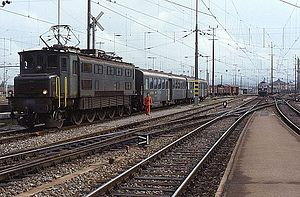 Romanshorn station, 1988
