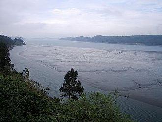 Eo (river) - View of Eo River, Ramsar Site