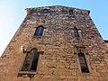 086 Monestir de Sant Cugat del Vallès, palau abacial, façana est.JPG