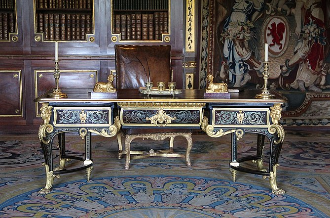 Andr charles boulle wikipedia for Grand bureau