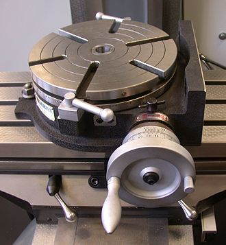 Rotary table - 10 inch, manual rotary table