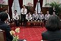 11.20 我國參加「2017第17屆世界警察消防運動會」代表團,與總統分享參賽心得 (26759092569).jpg