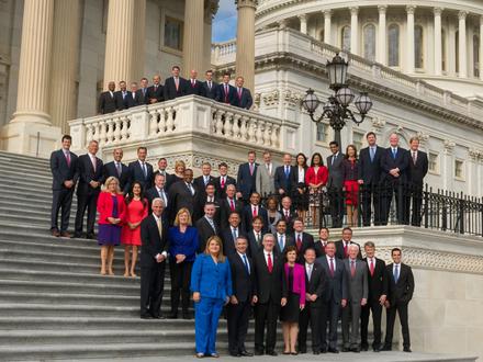 where do the us senators meet