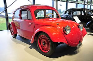 "Erwin Komenda - Erwin Komenda was a lead designer for the Porsche Type 60 prototype for the German ''""Volkswagen""''"