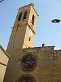 125 Església de Santa Maria, façana oest i campanar.jpg