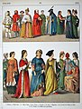 1300, Italian. - 043 - Costumes of All Nations (1882).JPG