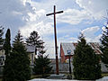 130413 The missionary cross at Saints Adalbert and Nicholas church in Jeruzal - 01.jpg