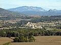 134 Vernet des del castell de Montsonís, al fons Montmagastre i la serra d'Aubenç.jpg