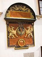 1360 double Griffin plaque (13574997375).jpg