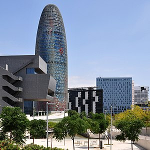 Economy of Spain - Torre Agbar, Barcelona