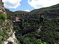 178 Cingles de Bertí i casa del priorat de Sant Miquel del Fai, des del camí de l'Ermita.JPG
