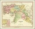 1817 map of Turkey in Asia by Henry Schenk Tanner.jpg