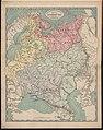 1860. Гидрогеологическая и орографическая карта Европейской России.jpg
