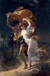Pierre Auguste Cot: The Storm