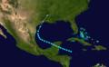 1895 Atlantic tropical storm 4 track.png