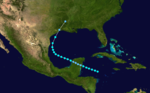 1895 Atlantic tropical storm 4 track.png