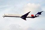 189gx - Scandinavian Airlines MD-90-30, OY-KIM@LHR,02.10.2002 - Flickr - Aero Icarus.jpg