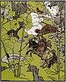1909. Георгий Нарбут. Война грибов 03.jpg
