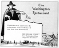 1916 advert Washington Restaurant Newark NJ.png