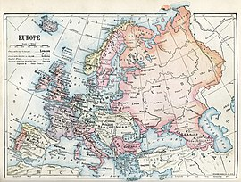 Geology of Europe 1875 Antique Map National Geographic Quality Huge PDF File