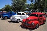 1939 & 1940 Willys Americar (Patriotic Trio Red, White & Blue) (14481158722).jpg