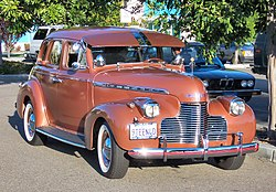 Chevrolet Special Deluxe Serie KA Limousine (1940)
