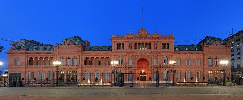 La p gina de toni la casa rosada buenos aires for Paginas de espectaculos argentina