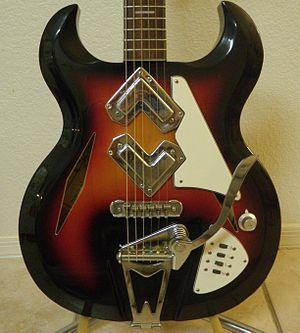 Greco guitars - 1968 Greco Shrike model 975