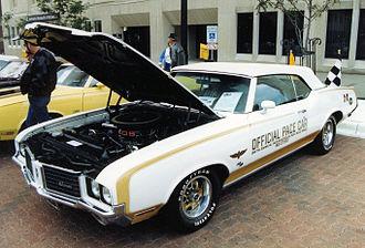Oldsmobile Hurst/Olds - 1972 Hurst/Olds Convertible Indy Pace Car