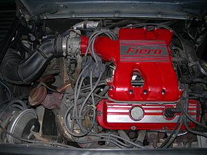 General Motors 60° V6 engine - L44 in a 1988 Pontiac Fiero Formula