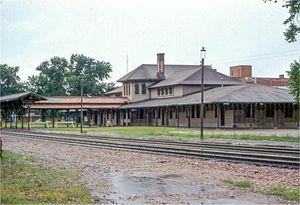 Thomas Rogers Kimball - Burlington Station, Hastings, Nebraska, 1908