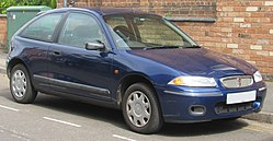 1998 Rover 214 Si 1.4 Front.jpg