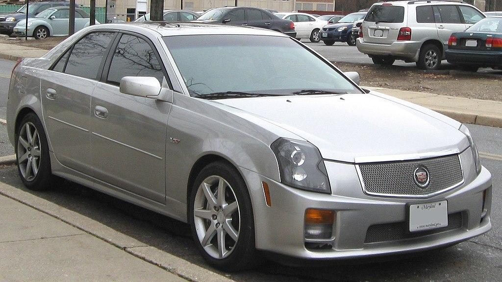 File:1st Cadillac CTS-V -- 12-08-2009.jpg - Wikimedia Commons