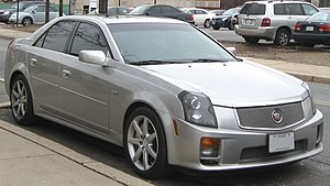 Cadillac V-Series - First-generation Cadillac CTS-V